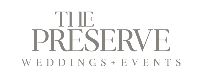 the preserve wedding and events logo