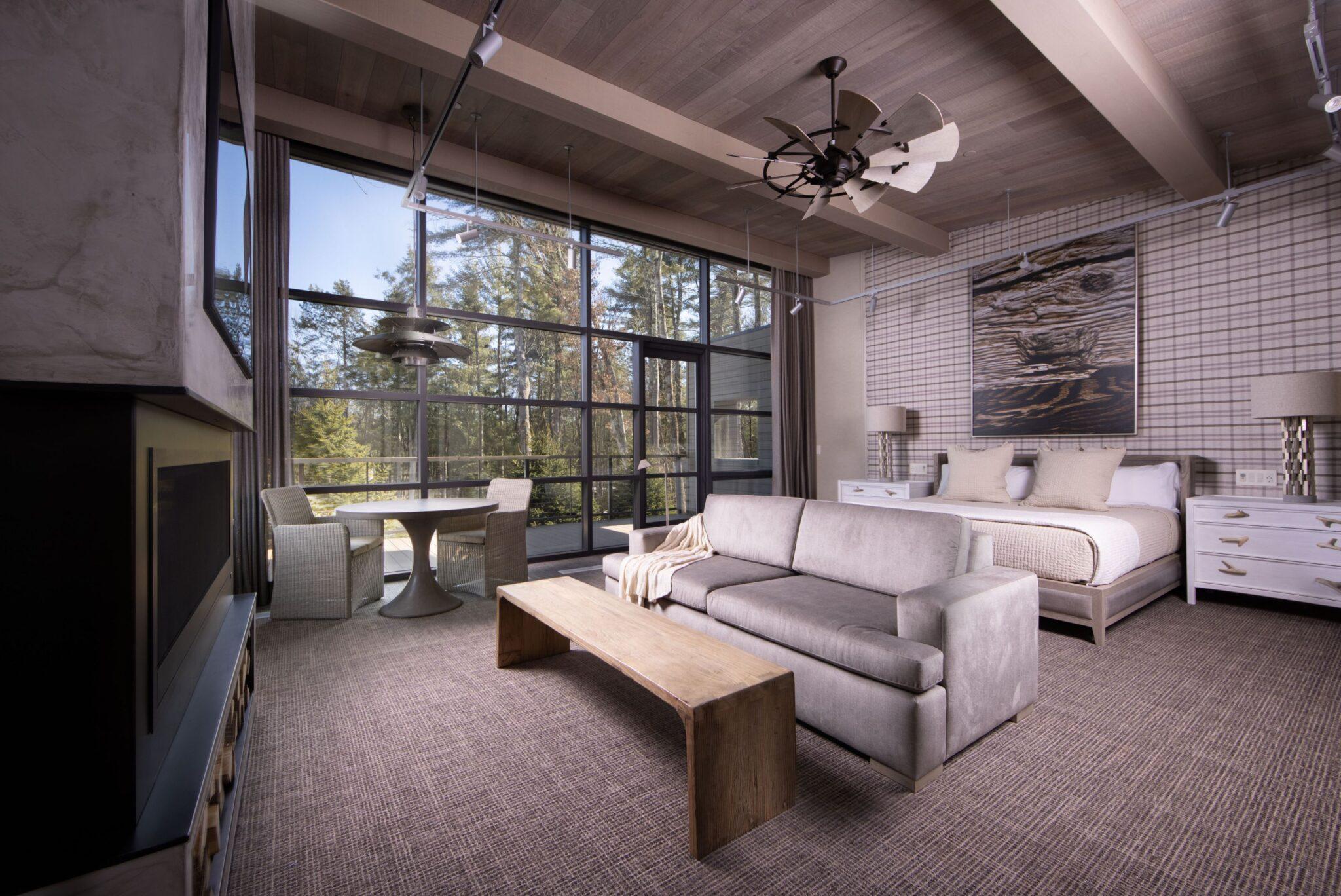 Bradstan cabin view 1